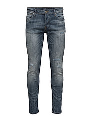 JJIGLENN JJORIGINAL GE 988 NOOS - BLUE DENIM