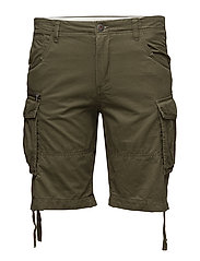 JJICHOP CARGO SHORTS WW STS - OLIVE NIGHT