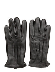 JACMONTANA LEATHER GLOVES STS - BLACK