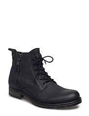 JFWALEXANDER LEATHER BOOT ANTHRACITE - ANTHRACITE