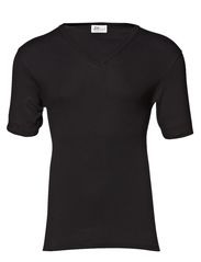 Original v-neck tee - black