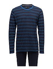 JBS pajamas, jersey - NAVY/BLUE