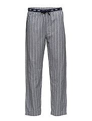 JBS pajamas pants, flannel - STRIPES