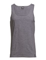 Tanktop Black Label - greymelange