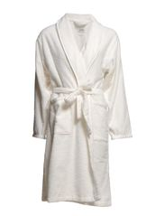 Velvet robe - 110 off white