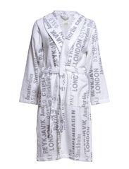 Short robe - X115 print