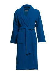 Double sided bathrobe - 761 Petrol