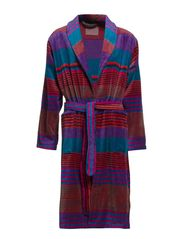Multicolour bathrobe - X761