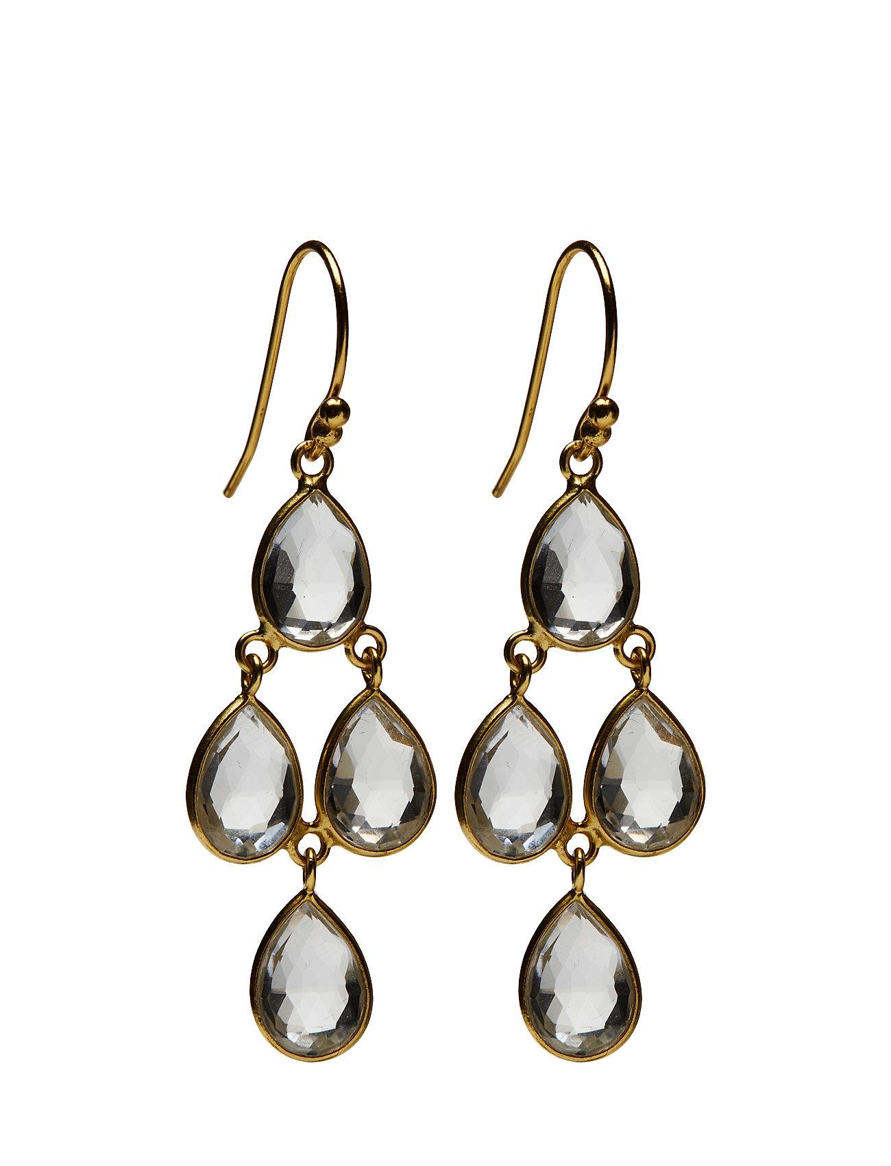 Small Cluster Gem Earrings Jewlscph Smykker til Damer i