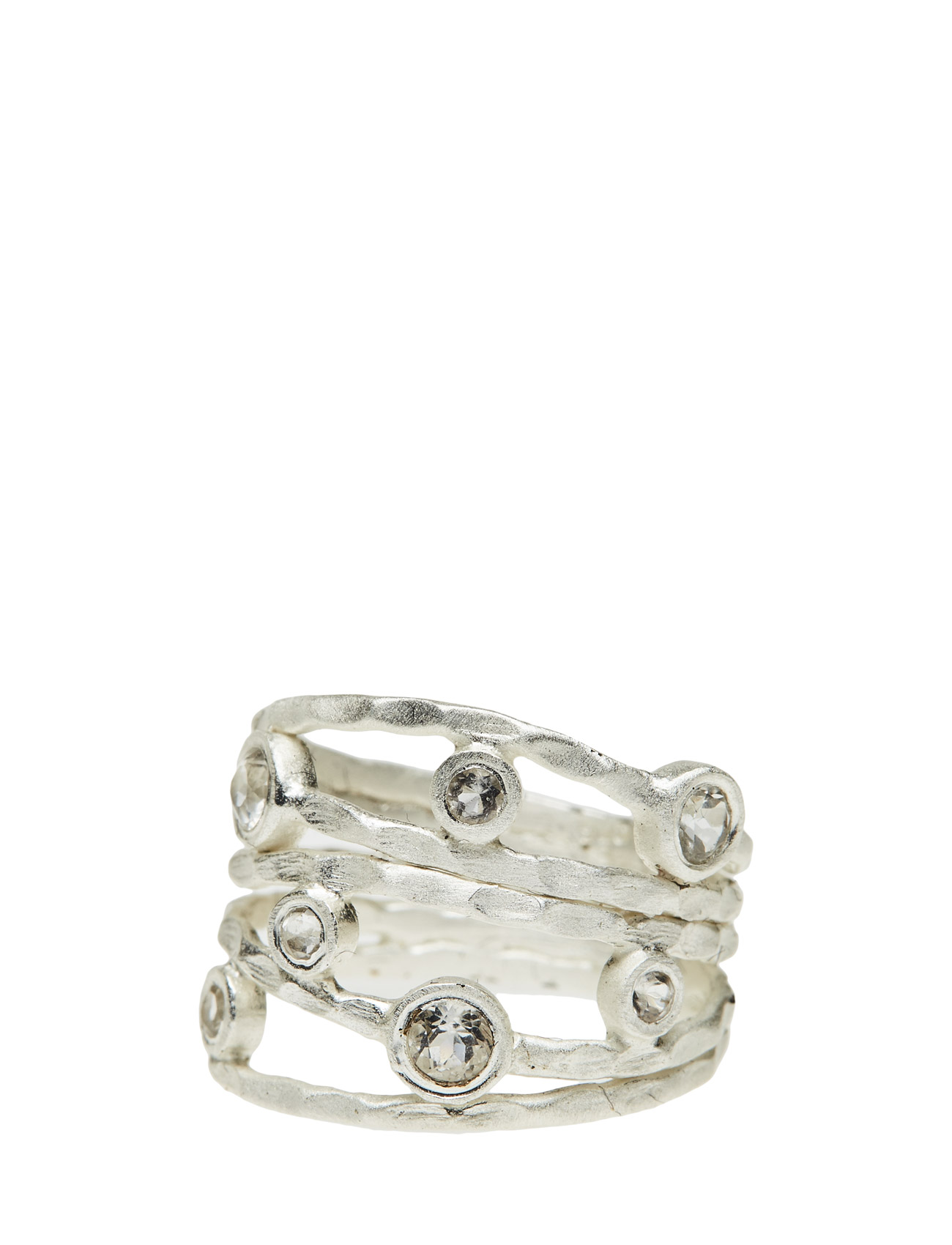 Ring Twisted Gem Jewlscph Smycken