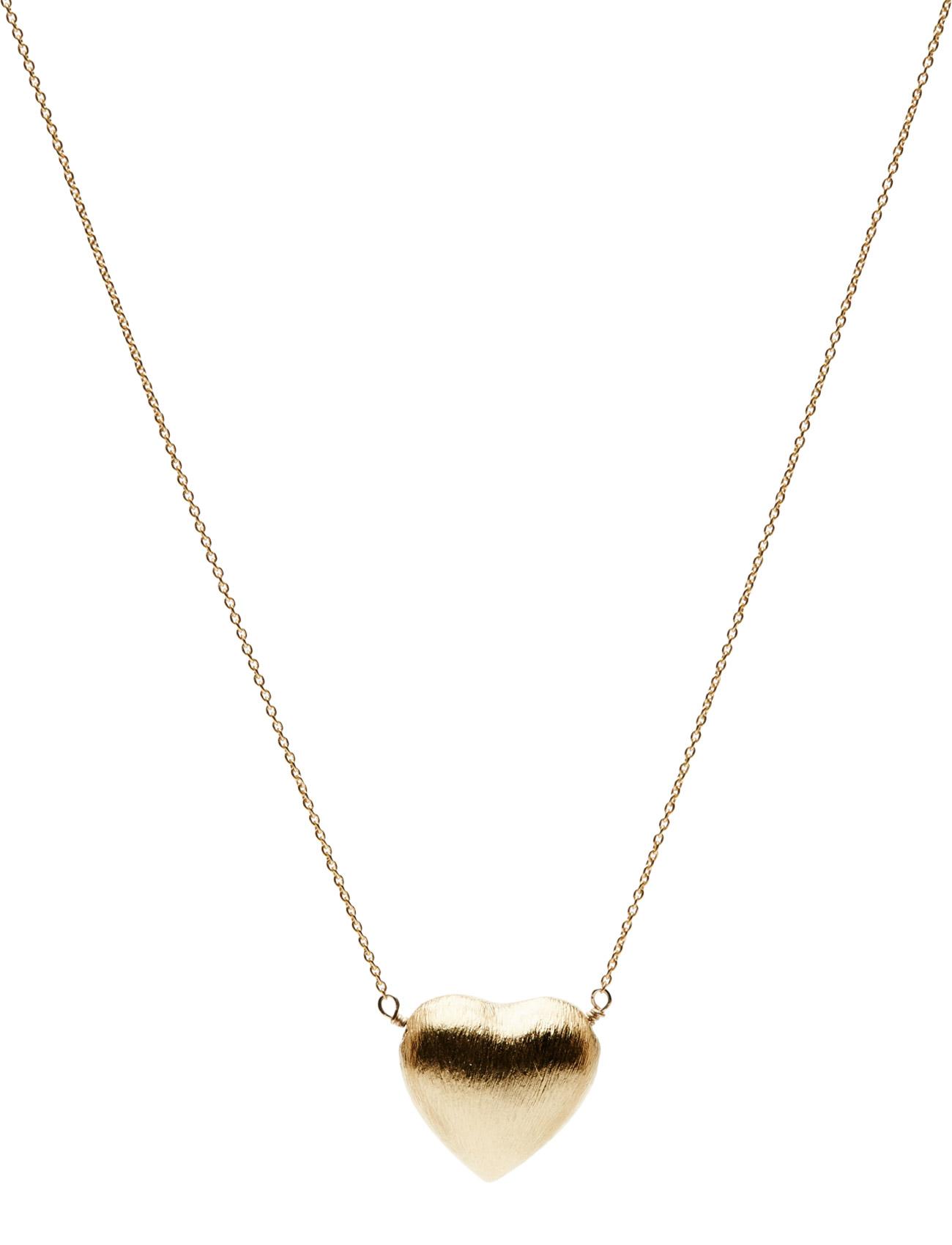 Necklace Precious Heart Jewlscph Smykker til Damer i Guld