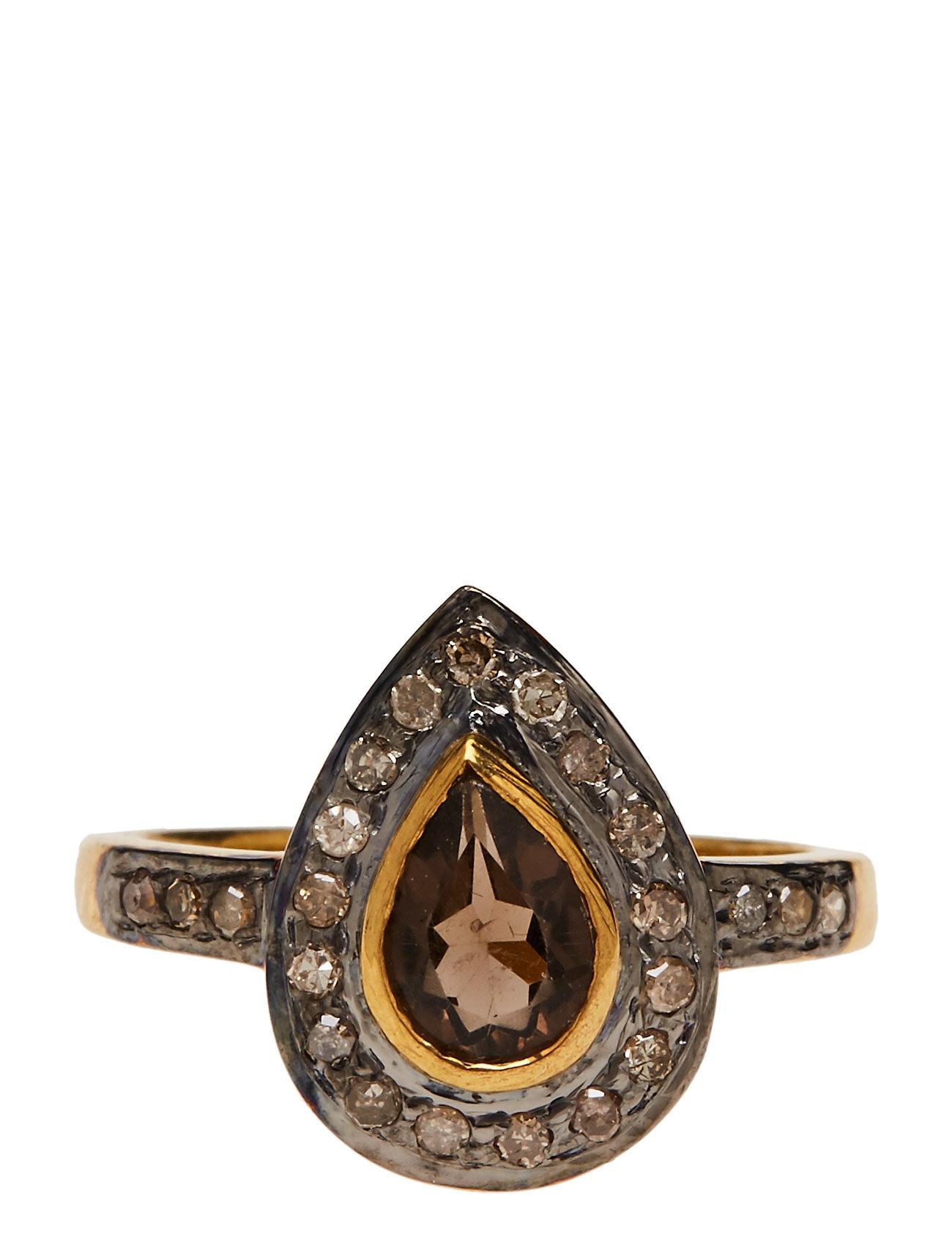 Mini Superiour Diamond Ring Jewlscph Smykker til Damer i