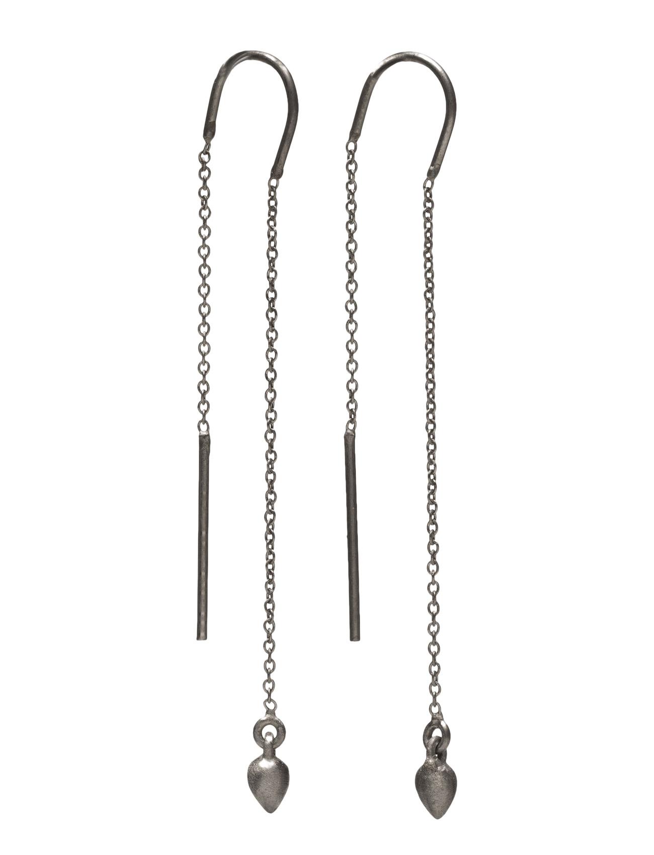 Droplet Hangers Jewlscph Smykker til Damer i Sort
