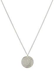 Necklace MEDALION - SILVER