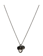 Necklace BE CHARMED - SMOKY TOPAS, BLACK ONYX