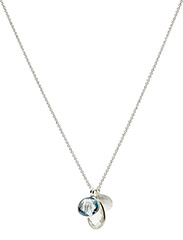 Necklace BE CHARMED - BLUE TOPAS, WHITE TOPAS