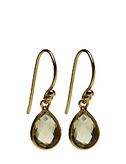 Pure drop Earrings - LEMON QUARTZ