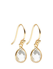 Earrings PURE DROP - WHITE TOPAZ