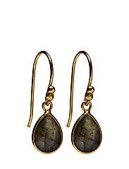 Pure drop Earrings - LABRADORITE