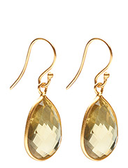 Earrings GODDESS EAR - LEMON TOPAS