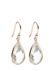 Earrings GODDESS EAR - WHITE TOPAZ