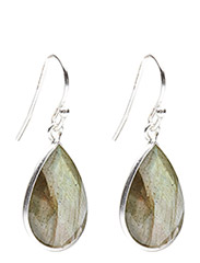 Earrings GODDESS EAR - LABRADORITE