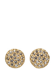 Starry studs - WHITE TOPAZ