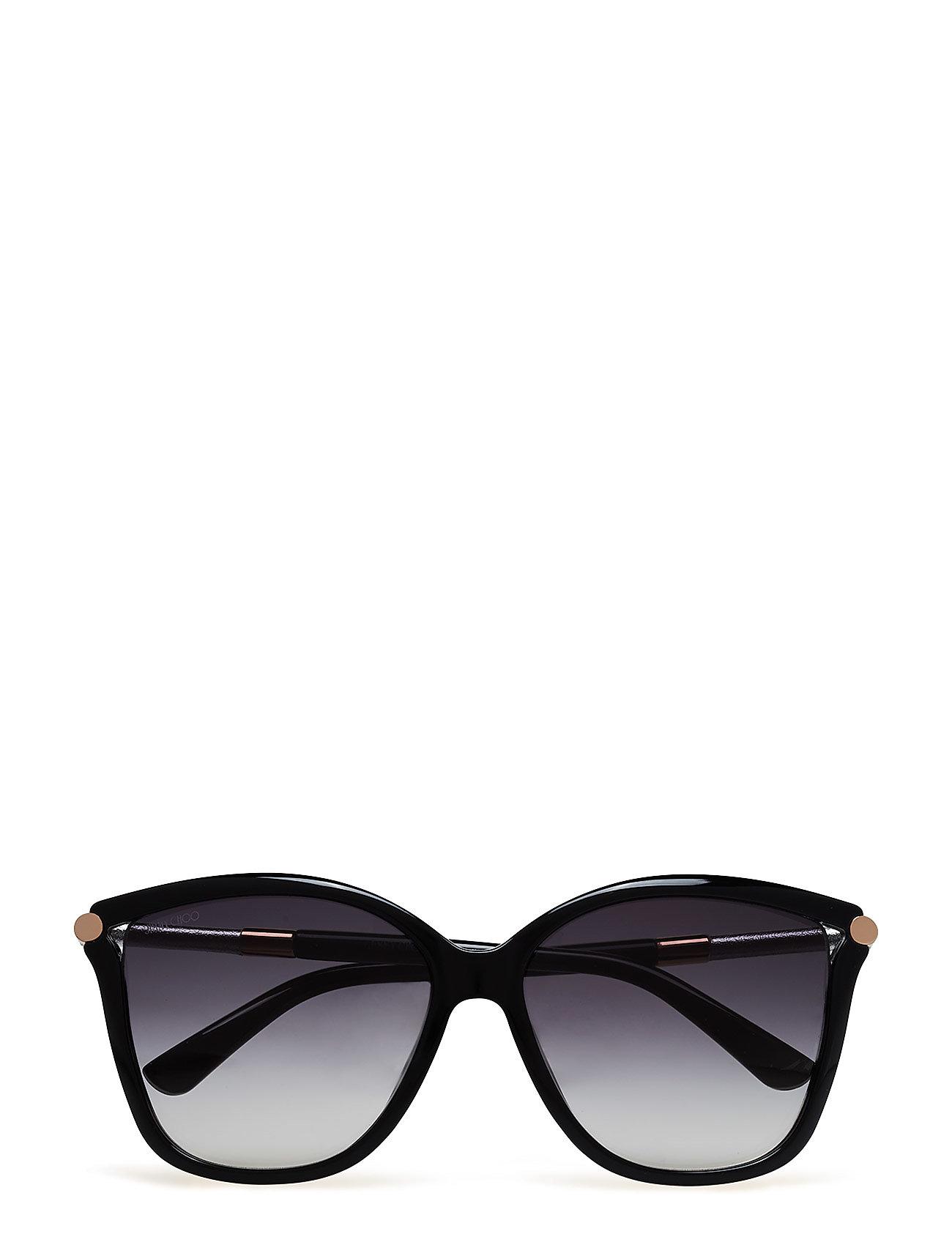 076b2ecfbc64 Shop Tatti S Jimmy Choo Sunglasses Solbriller i Sort til Kvinder hos ...