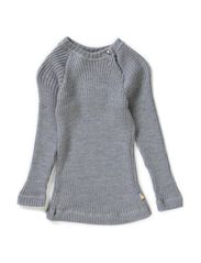 Blouse long sleeve - Lt.greymel