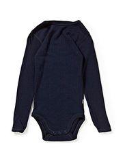 Bodysuit m/lang  - Navy