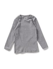 Blouse w/long sleeves - Grey