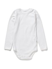 Body w./long sleeves - WHITE