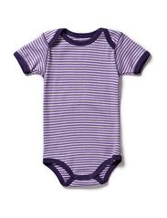Body w/short sleeves - Purple