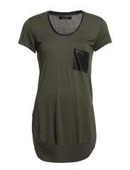 Freja T-shirt - Amber green