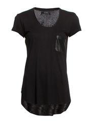 Freja T-shirt - Black Stone