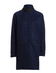 Naima Coat - dark marine