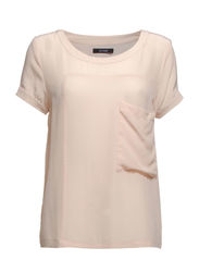 Carolena Top - Pale blush