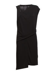 Angelia Dress - black stone