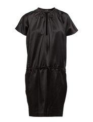 Delena Dress - black stone