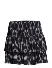 Begonia Skirt - aop ikat