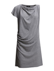 Edelweiss dress - medium grey melange