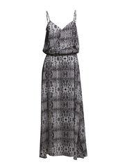 Snowdrop Long Dress - black stone