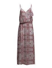 Snowdrop Long Dress - sienna dust