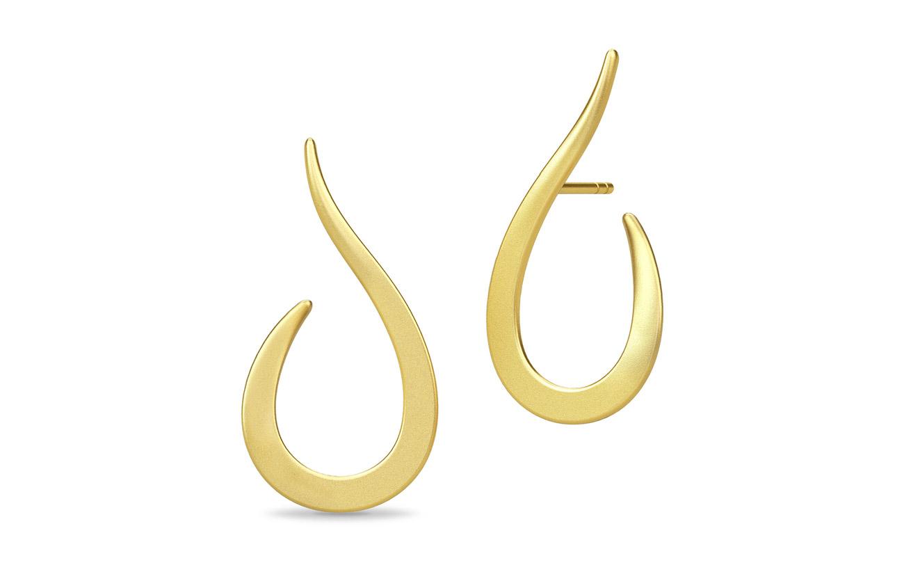 Julie Sandlau Classic Swan Earring - Gold