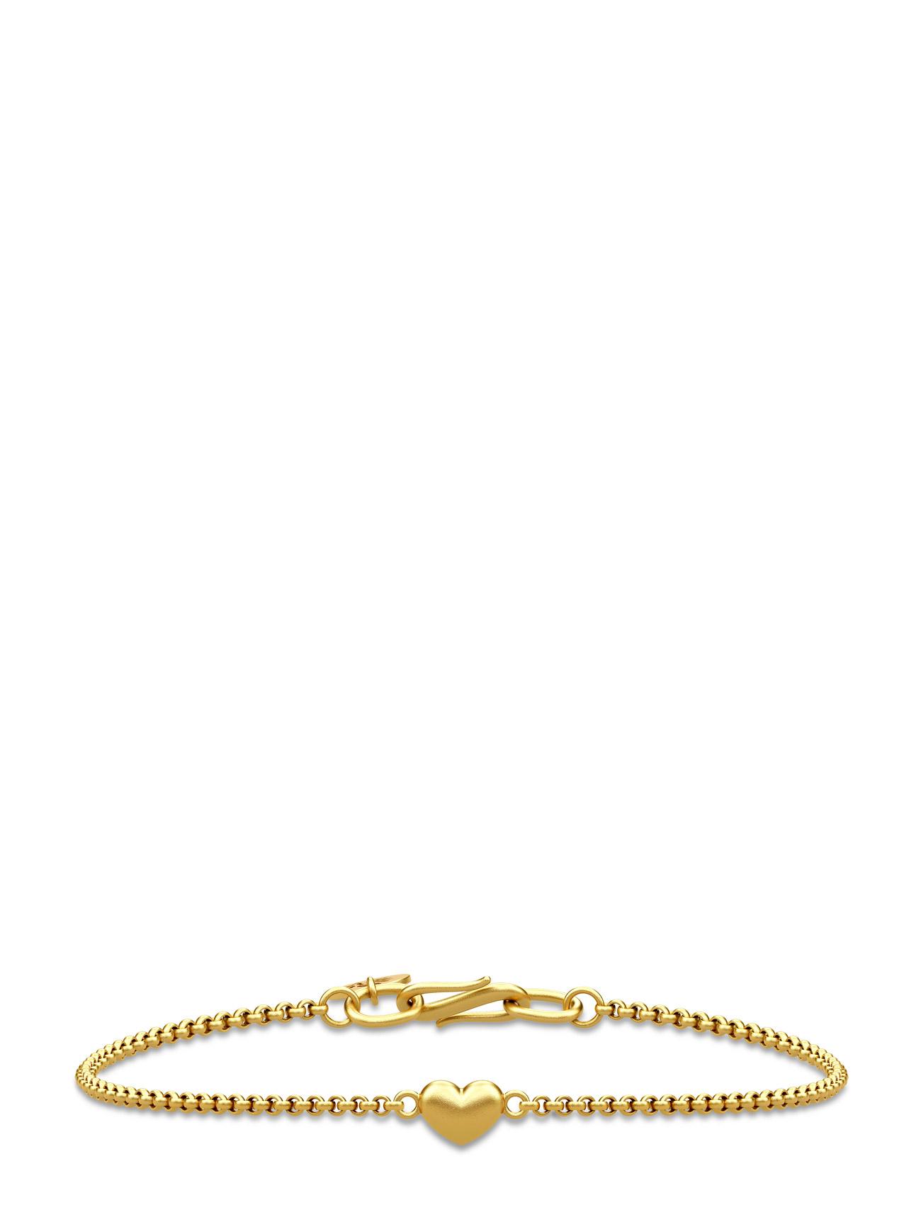 Love Bracelet - Gold Julie Sandlau Smykker til Kvinder i Guld