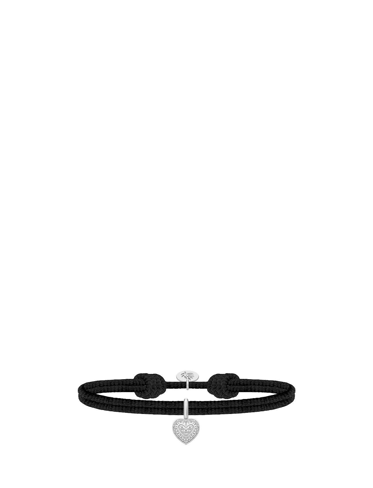 Sweetheart Satin Bracelet - Rh Julie Sandlau Smykker til Damer i Sort