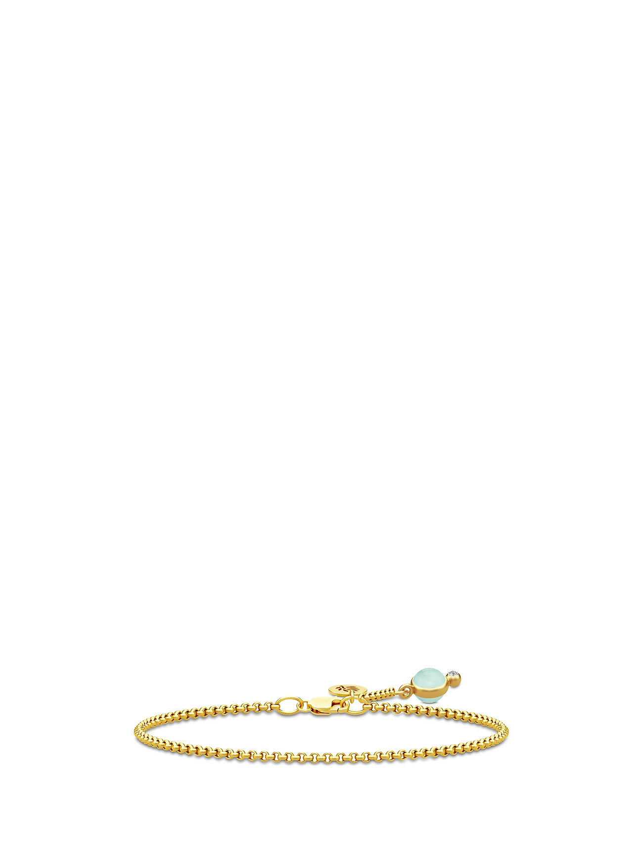 Prime Bracelet - Gold/Peony Chalcedony Julie Sandlau Smykker til Damer i Grøn