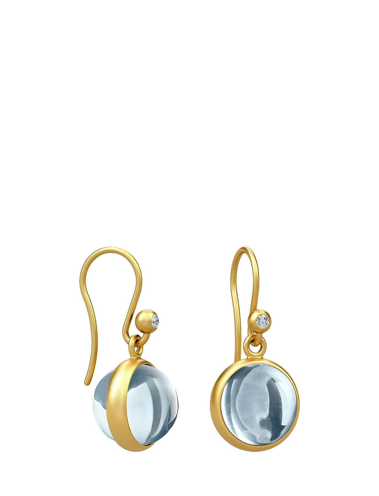 Prime Earring - Gold/Ice Blue thumbnail