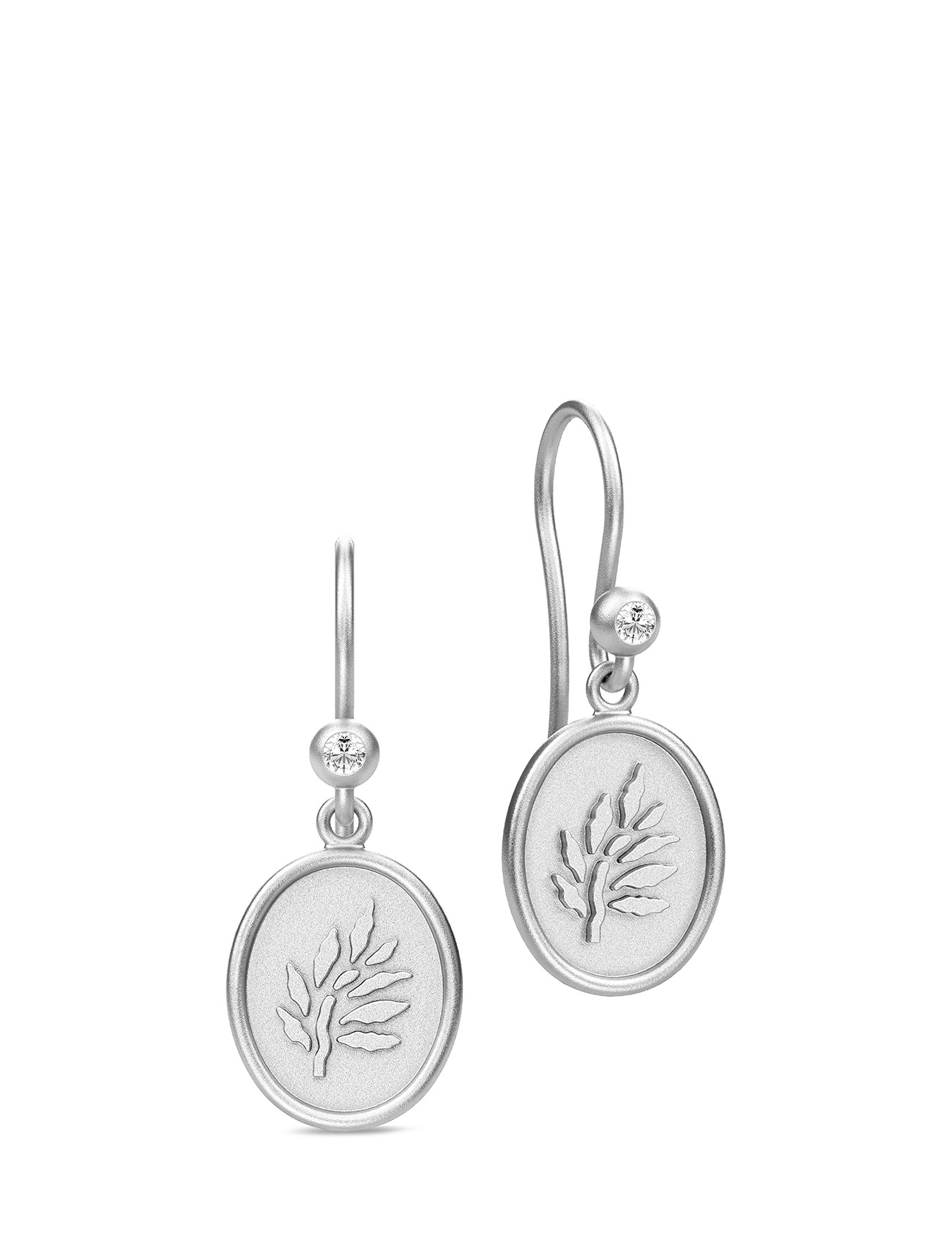 Icon Earring - Rhodium thumbnail