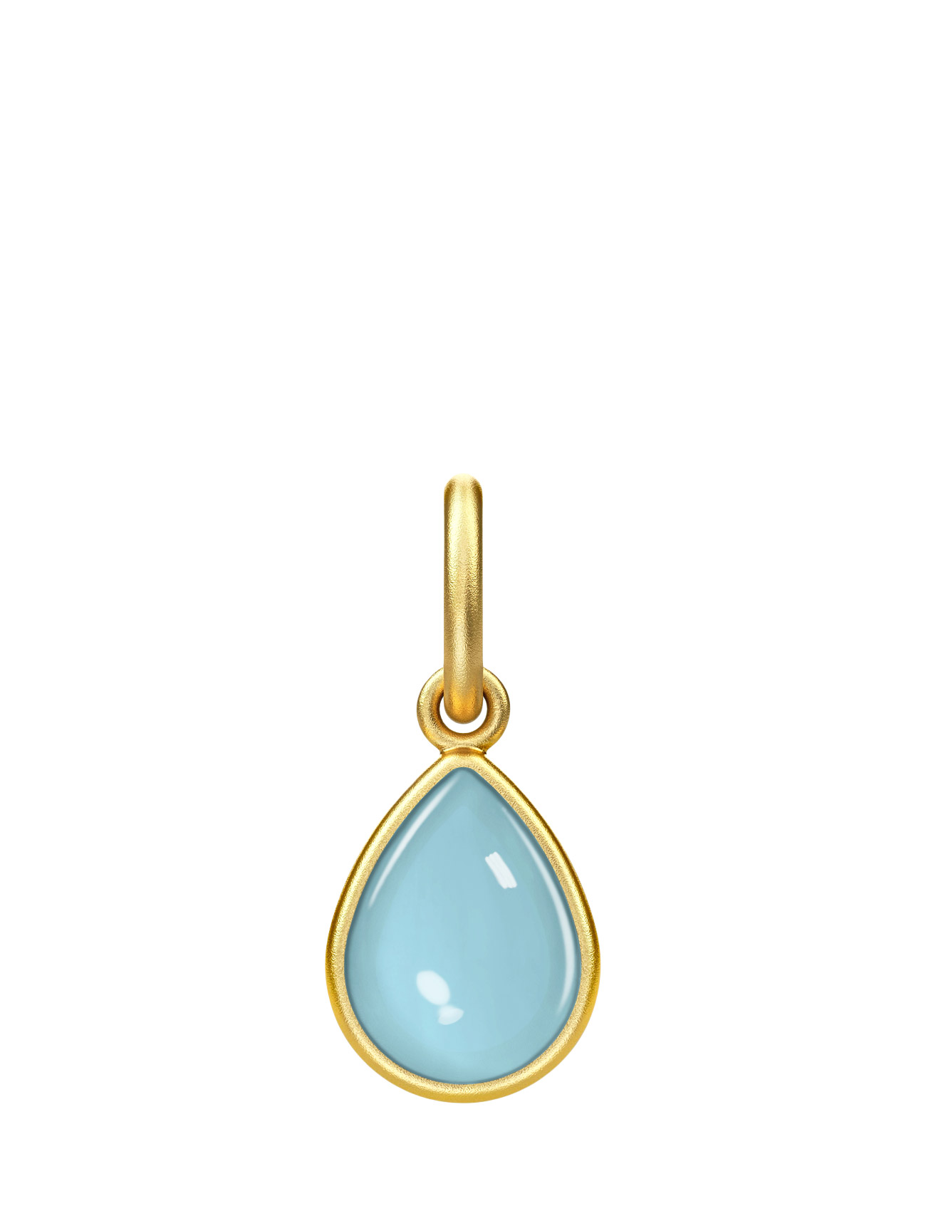 Aurora Pendant - Gold/Blue Julie Sandlau Smykker til Damer i Blå